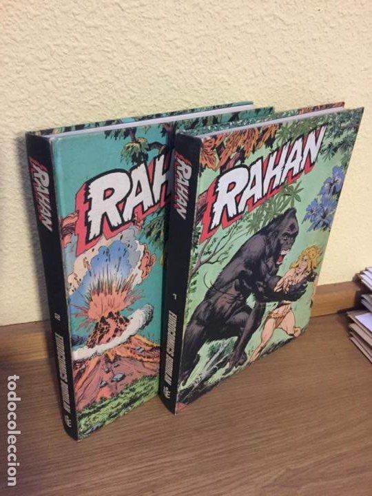 RAHAN COMPLETA 2 TOMOS - BURU LAN 1974 - ¡COMO NUEVA! (Tebeos y Comics - Buru-Lan - Rahan)