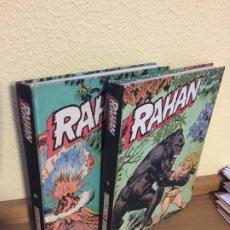 Cómics: RAHAN COMPLETA 2 TOMOS - BURU LAN 1974 - ¡COMO NUEVA!. Lote 184213865