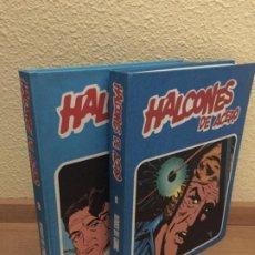 Cómics: HALCONES DE ACERO COMPLETA 2 TOMOS - BURU LAN 1974 - ¡NUEVA!. Lote 184215127