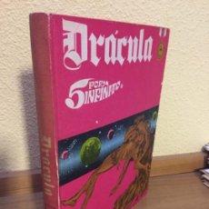 Cómics: DRÁCULA - 5 POR INFINITO - TOMO 2 - BURU LAN 1972 - ¡BUEN ESTADO!. Lote 184302377
