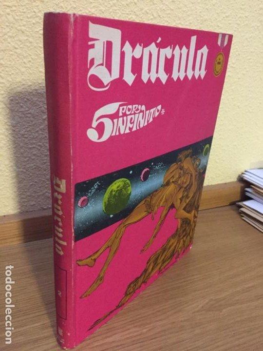 DRÁCULA - 5 POR INFINITO - TOMO 2 - BURU LAN 1972 - ¡MUY BUEN ESTADO! (Tebeos y Comics - Buru-Lan - Drácula)