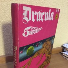 Cómics: DRÁCULA - 5 POR INFINITO - TOMO 2 - BURU LAN 1972 - ¡MUY BUEN ESTADO!. Lote 184302527