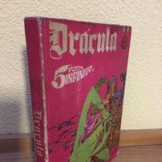 Cómics: DRÁCULA - 5 POR INFINITO - TOMO 3 - BURU LAN 1972. Lote 184302780