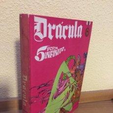 Cómics: DRÁCULA - 5 POR INFINITO - TOMO 3 - BURU LAN 1972 - ¡BUEN ESTADO!. Lote 184303052