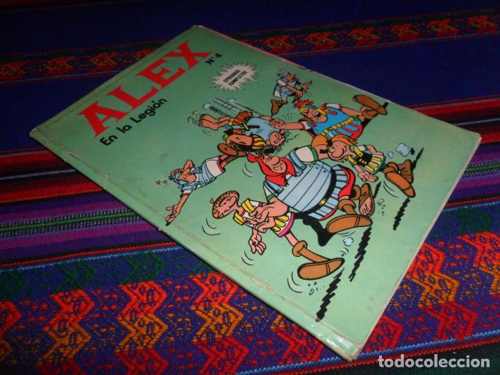 ALEX Nº 4 EN LA LEGIÓN. REGALO Nº 2 LA GRAN PELEA. BURU LAN 1973. 40 PTS. (Tebeos y Comics - Buru-Lan - Otros)
