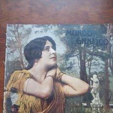 Cómics: HESPERIA BELLA Y NOTABLE BAILARINA HOJA AÑO 1919. Lote 184632321