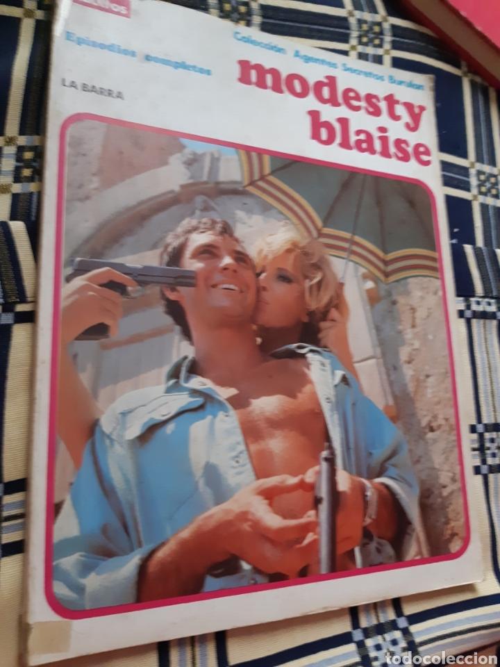 TEBEOS-CÓMICS CANDY - MODESTY BLAISE 1 - TOMÓ BURULAN - AA98 (Tebeos y Comics - Buru-Lan - Modesty Blaise)