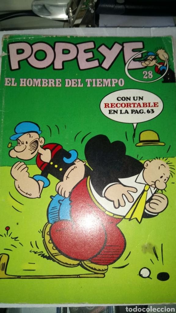 POPEYE. COLECCIÓN NÚM. 28. EDITORIAL BURU LAN. AÑO 1971. PVP 40 PESETAS. (Tebeos y Comics - Buru-Lan - Popeye)