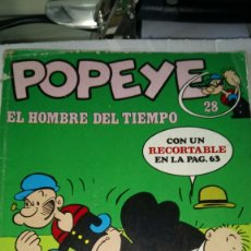 Cómics: POPEYE. COLECCIÓN NÚM. 28. EDITORIAL BURU LAN. AÑO 1971. PVP 40 PESETAS.. Lote 184826050
