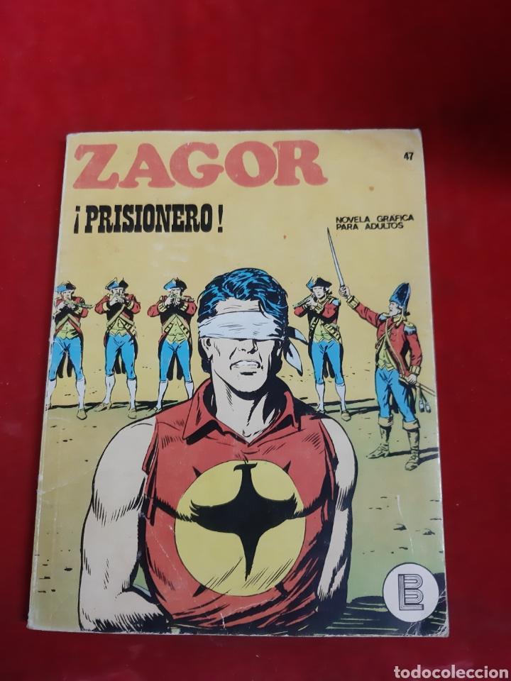 ZAGOR BURU LAN NUMERO 47 (Tebeos y Comics - Buru-Lan - Zagor)