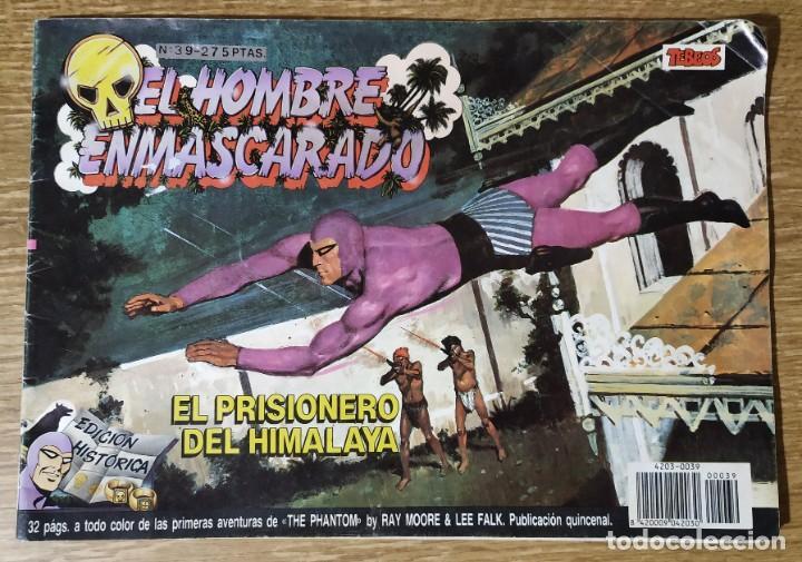 CÓMIC EL HOMBRE ENMASCARADO Nº39 (EDICIÓN HISTÓRICA) (Tebeos y Comics - Buru-Lan - Hombre Enmascarado)