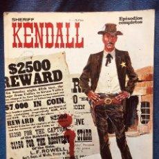 Cómics: SHERIFF KENDALL Nº1 LOS HERMANOS DALTON RALPH KENDALL EDITORIAL BURULAN. Lote 186006812