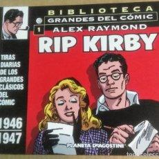 Cómics: RIP KIRBY. BIBLIOTECA GRANDES DEL COMIC, 1. TIRAS DIARIAS 1946-1947, PLANETA DE AGOSTINI, BARCELONA,. Lote 186100838