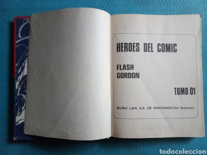 Cómics: FLASH GORDON TOMO 01 BURU LAN EDICIONES 1972 - Foto 2 - 186287400