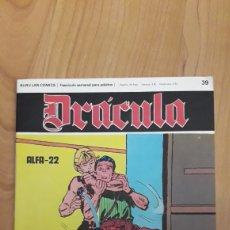 Cómics: DRÁCULA. BURU LAN COMICS. 39. ALFA-22. Lote 186410123
