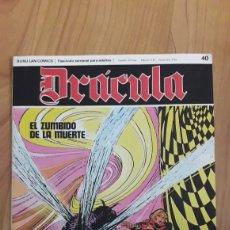 Cómics: DRÁCULA. BURU LAN COMICS. 40. EL ZUMBIDO DE LA MUERTE. Lote 186410208
