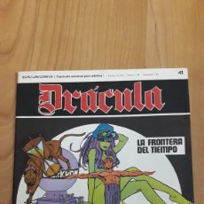 Cómics: DRÁCULA. BURU LAN COMICS. 41. LA FRONTERA DEL TIEMPO. Lote 186410333