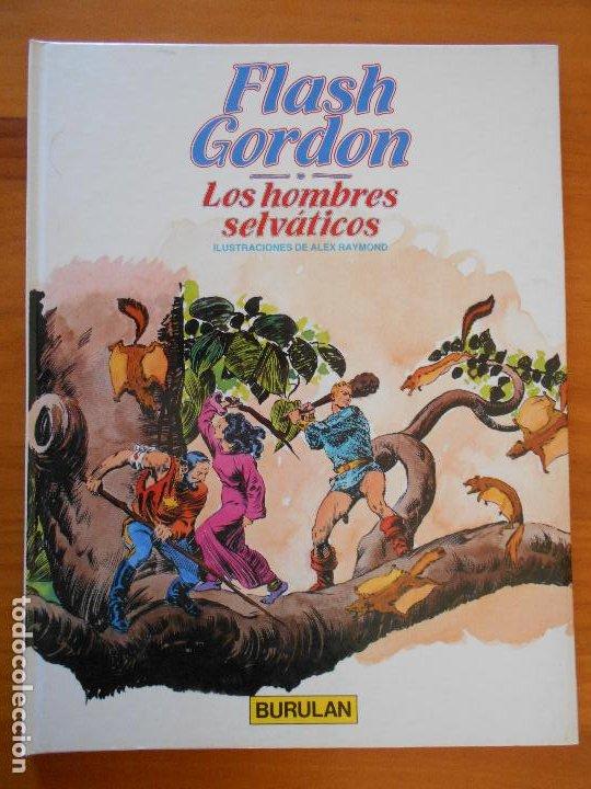 FLASH GORDON Nº 6 - LOS HOMBRES SELVATICOS - BURULAN - TAPA DURA (GR) (Tebeos y Comics - Buru-Lan - Flash Gordon)