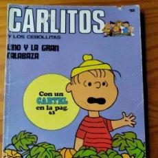 Cómics: CARLITOS Y LOS CEBOLLITAS - TOMO BURU LAN 66 PGNAS. INCLUYE CARTEL. Lote 187188943