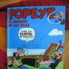Cómics: POPEYE Nº 10. EL SECRETO DE LAS ISLAS. BURU LAN, 1971. Lote 187370620