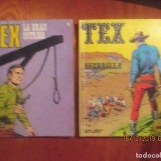 Comics : TEX -BURU LAN -LOTE DE 2 -Nª 7, 81. Lote 187542191