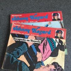 Cómics: JOHNNY HAZARD - NÚMEROS 7 Y 10 - BURU LAN - 1973. Lote 188561431