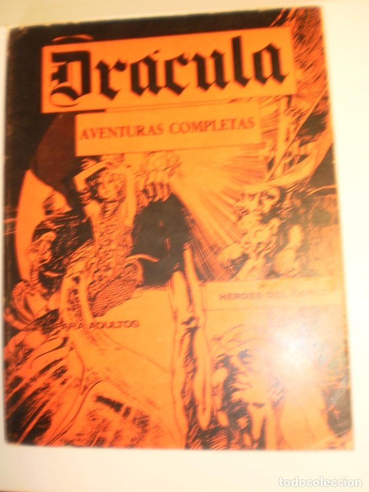 DRÁCULA BURU-LAN Nº 1, 2, 3, 4, 8 Y 10 1972 RETAPADOS (EN ESTADO NORMAL, LEER) (Tebeos y Comics - Buru-Lan - Drácula)
