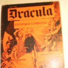 Cómics: DRÁCULA BURU-LAN Nº 1, 2, 3, 4, 8 Y 10 1972 RETAPADOS (EN ESTADO NORMAL, LEER). Lote 189175951