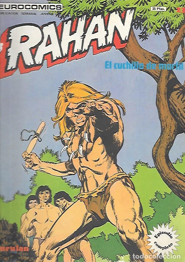 RAHAN NUMERO 23 EL CUCHILLO DE MARFIL (Tebeos y Comics - Buru-Lan - Rahan)