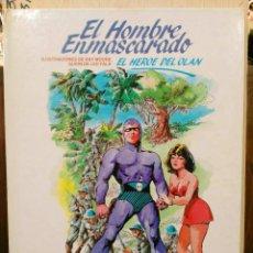 Cómics: EL HOMBRE ENMASCARADO - EL HÉROE DEL OLAN (PASTA DURA) - ED. BURULAN. Lote 189260796
