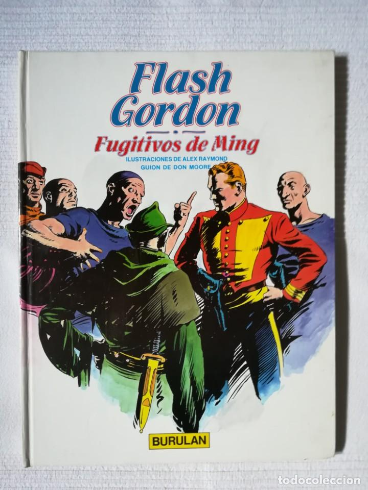 FLASH GORDON -FUGITIVOS DE MING- DE ALEX RAYMOND -BURULAN 1983, TAPA DURA (Tebeos y Comics - Buru-Lan - Flash Gordon)