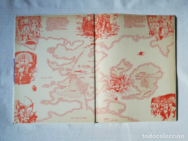 Cómics: Flash Gordon -Fugitivos de Ming- de Alex Raymond -Burulan 1983, tapa dura - Foto 2 - 189297432