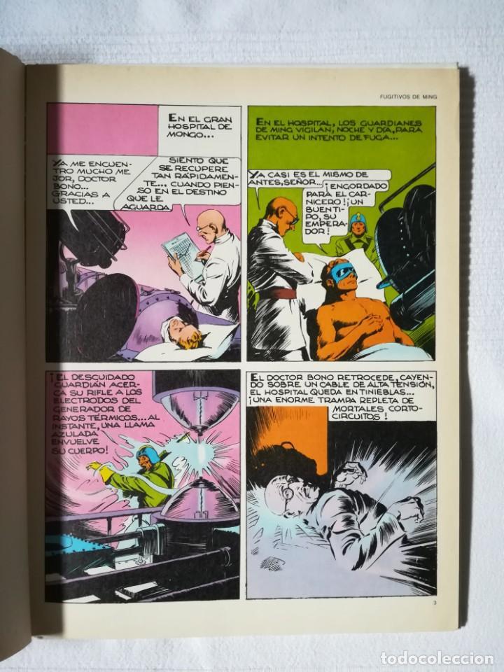 Cómics: Flash Gordon -Fugitivos de Ming- de Alex Raymond -Burulan 1983, tapa dura - Foto 3 - 189297432