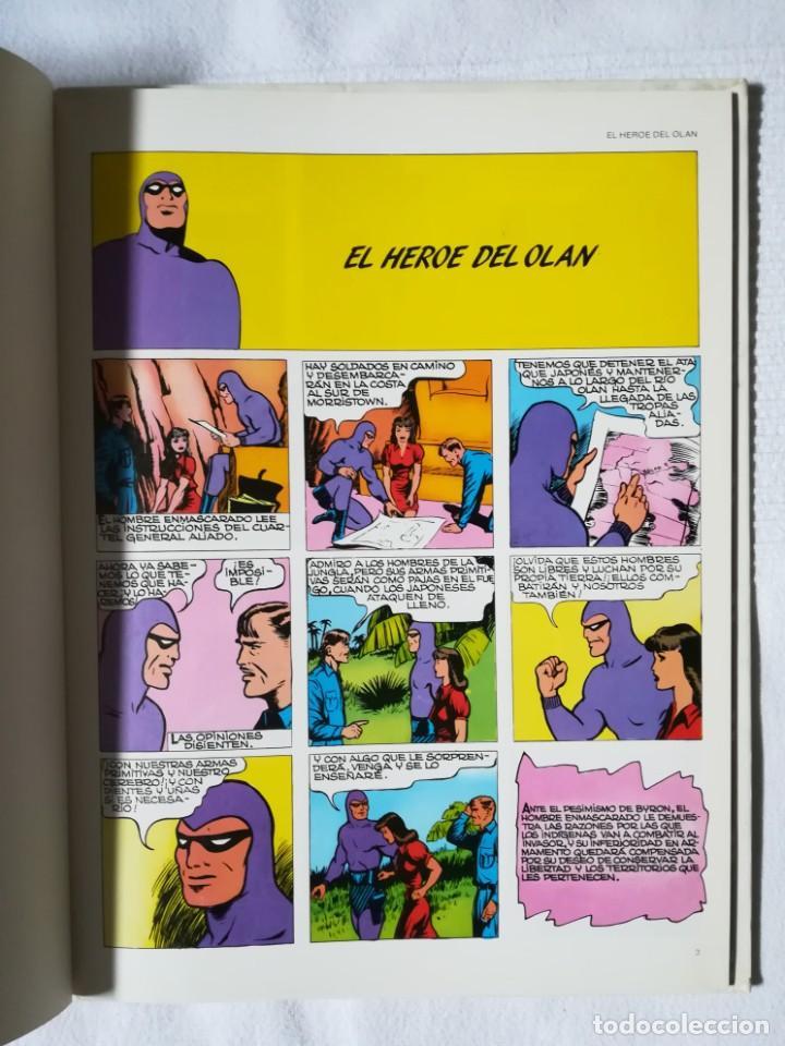 Cómics: El Hombre Enmascarado -El héroe del Olan- Burulan 1983, Tapa dura - Foto 2 - 189298370