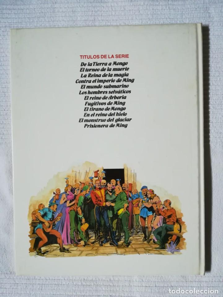 Cómics: Flash Gordon -Los hombres selváticos- de Alex Raymond -Burulan 1983, tapa dura - Foto 4 - 189296983