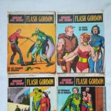 Cómics: 4 CÓMICS DE FLASH GORDON 1971-1972 Nº 1, 2, 9 Y 10 DE BURU LAN. Lote 189353980