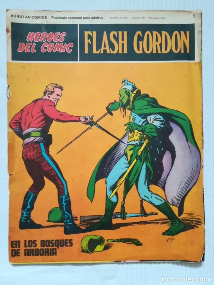 Cómics: 4 cómics de Flash Gordon 1971-1972 nº 1, 2, 9 y 10 de Buru Lan - Foto 2 - 189353980