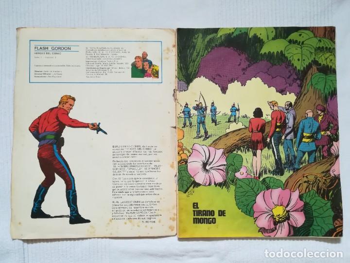 Cómics: 4 cómics de Flash Gordon 1971-1972 nº 1, 2, 9 y 10 de Buru Lan - Foto 3 - 189353980