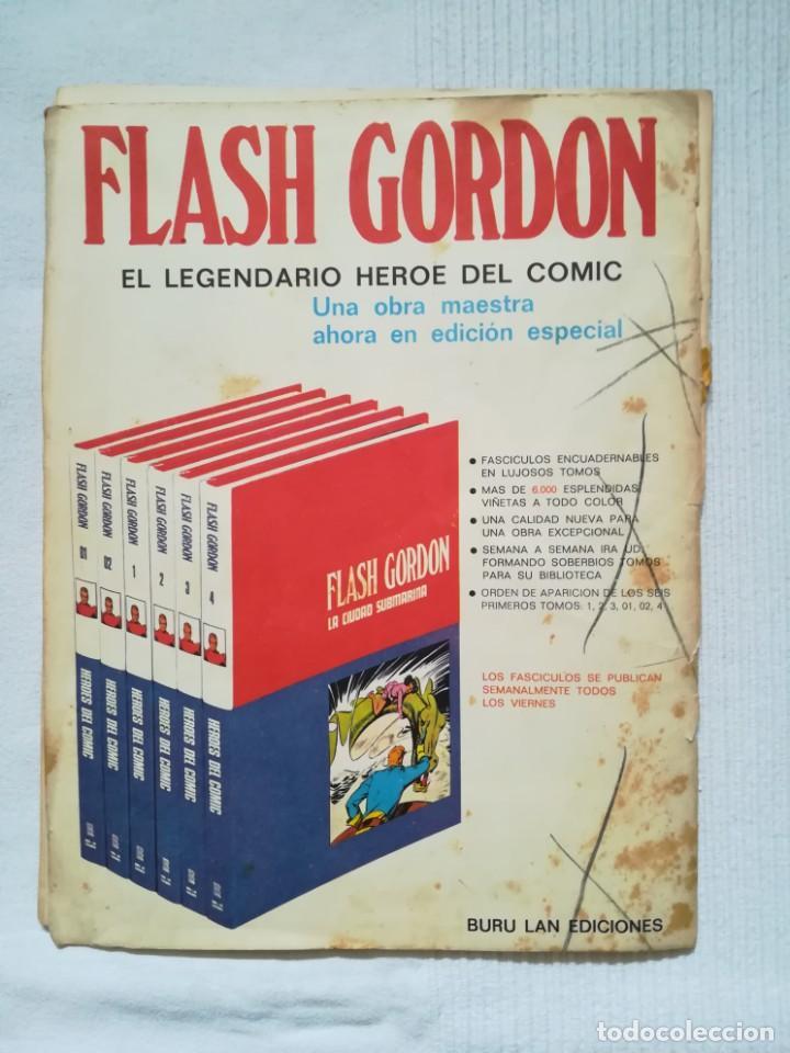 Cómics: 4 cómics de Flash Gordon 1971-1972 nº 1, 2, 9 y 10 de Buru Lan - Foto 7 - 189353980
