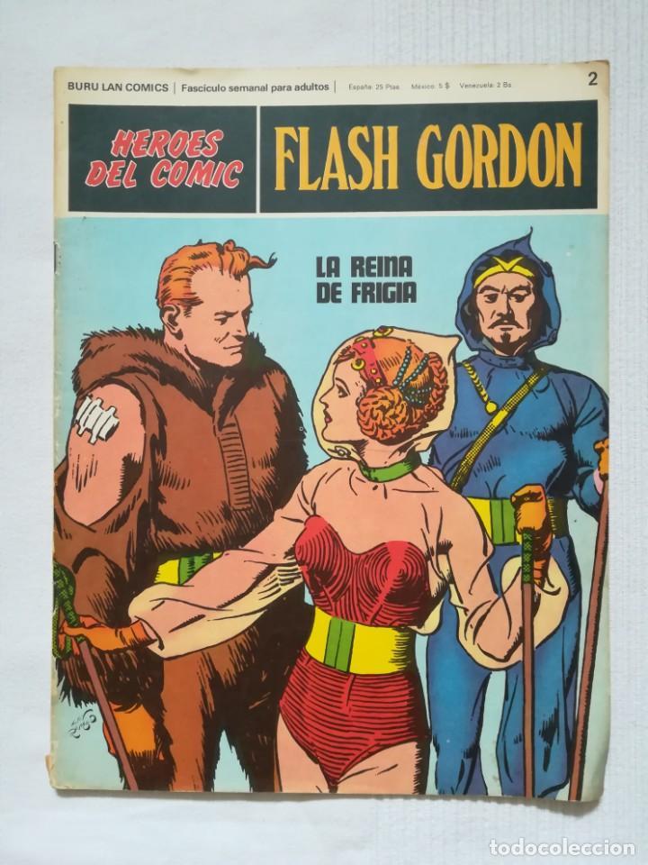Cómics: 4 cómics de Flash Gordon 1971-1972 nº 1, 2, 9 y 10 de Buru Lan - Foto 8 - 189353980