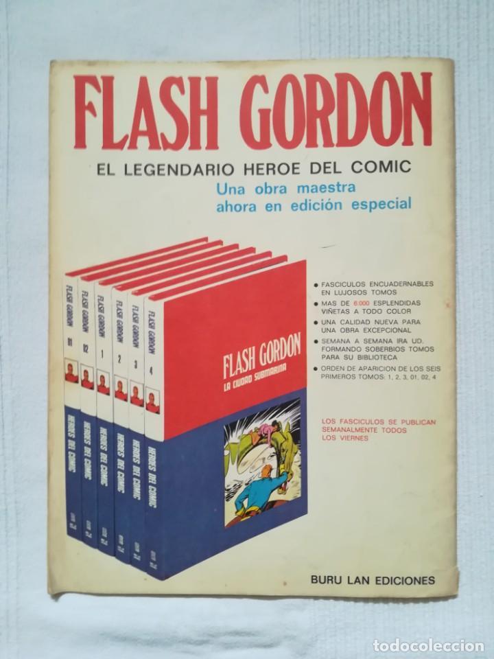 Cómics: 4 cómics de Flash Gordon 1971-1972 nº 1, 2, 9 y 10 de Buru Lan - Foto 11 - 189353980