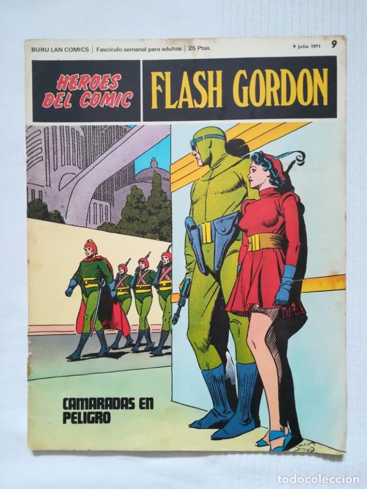 Cómics: 4 cómics de Flash Gordon 1971-1972 nº 1, 2, 9 y 10 de Buru Lan - Foto 12 - 189353980