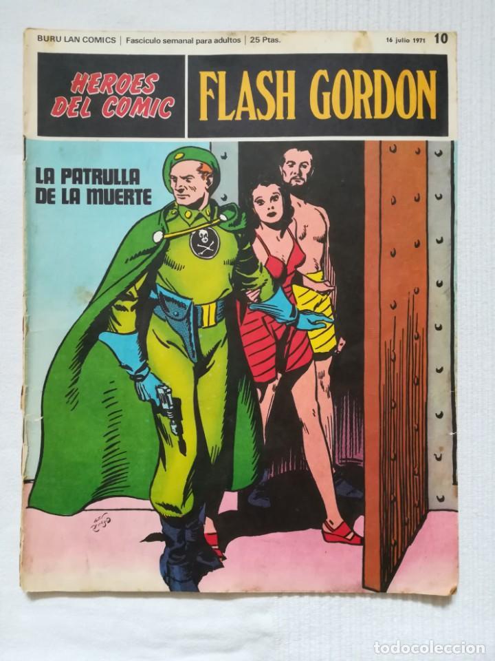 Cómics: 4 cómics de Flash Gordon 1971-1972 nº 1, 2, 9 y 10 de Buru Lan - Foto 17 - 189353980