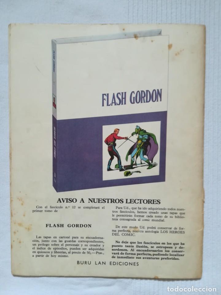 Cómics: 4 cómics de Flash Gordon 1971-1972 nº 1, 2, 9 y 10 de Buru Lan - Foto 20 - 189353980
