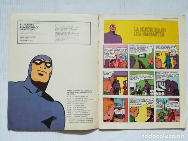 Cómics: El Hombre Enmascarado núm. 51 Héroes del Cómic, Buru Lan 1972 - Foto 2 - 189354471