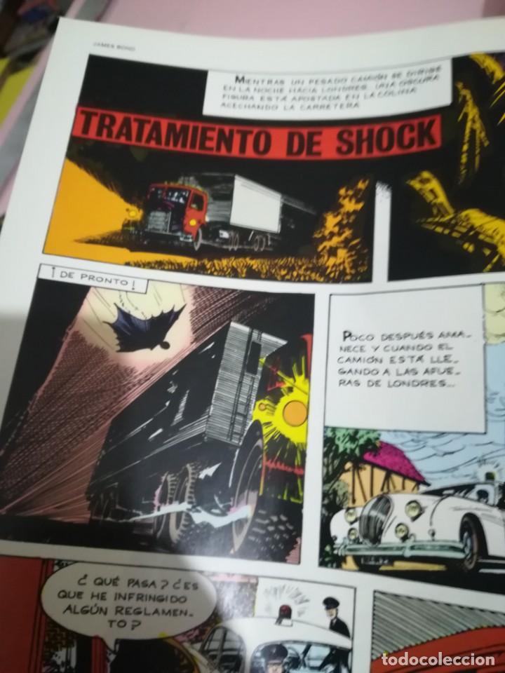 Cómics: TOMO 3 JAMES BOND : TRATAMIENTO DE SHOCK ( COLECCION BURULAN ) REF. UR EST - Foto 4 - 189360288