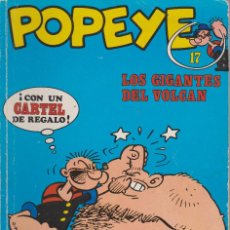 Cómics: POPEYE Nº 17. LOS GIGANTES DEL VOLCAN. Lote 189739421