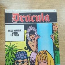 Cómics: DRACULA #34. Lote 189765931
