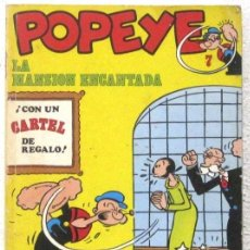 Cómics: POPEYE - LA MANSION ENCANATADA - COMIC. Lote 189933328