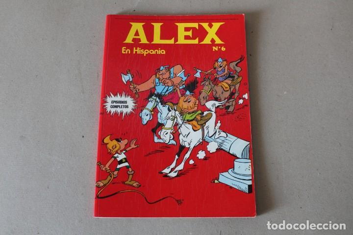 ALEX Nº 6 EN HISPANIA - BURU LAN EDICIONES 1973 (Tebeos y Comics - Buru-Lan - Otros)